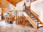 Wildcat Chalet Stairwell