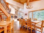 Wildcat Chalet Dining Area