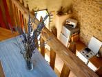 Kitchen from Mezzanine