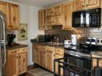 Kitchen area , no dishwasher