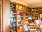 Library off of Living Room