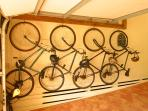 Guest bikes provided, 6 adult bikes, 1 child size bike