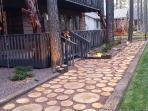 Log Walkway - Thanks Pinterest