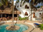 The pool and Dua House