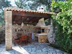 myPaxos Villa - BBQ & exterior dinning place