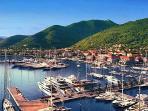 Marina in Tivat, 6 miles