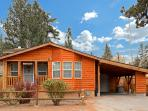 The front of Big Bear Hideaway.