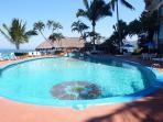 Swimming Pool Facing Ocean