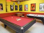Private professional game-room