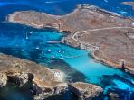 Visit Comino and Blue Lagoon with Water Taxi