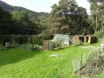 . . . and a large veg garden. Tours available.