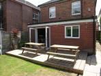 Decking and BBQ Area