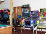 Beaver Valley game room.