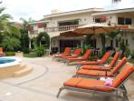 Poolside lounges