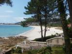 Más vistas de la playa langosteira
