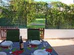 Villa Casa dos Arcos (4 persons) - outdoor furniture, patio and garden.