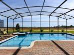 Beautiful private pool with open panoramic views of the Florida sky