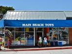 The only toy store in Laguna Beach