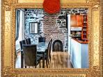 Intimate Retreat at la Maison Ursulines, Dining Room View