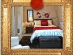 Intimate Retreat at la Maison Ursulines, 2nd Bedroom (Full)