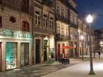 Apartment's Street at night