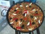 my specialty, seafood paella