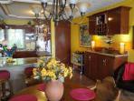 Bar Area in Kitchen