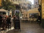 Malaga old town is good all year round for enjoyment and sight-seeing: restaurants, shops and museum