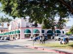 Village offers boutiques, restaurants, grocers
