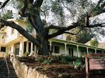 Will Rogers state park nearby w/ free tours of Rogers home.  Hikes, horseback rides, polo matches.