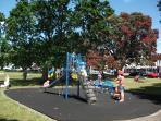 local play ground (5 mins walk)