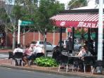 local cafe (4 mins walk)