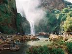 les cascades d'Ouzoud hautes de 110m