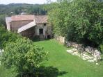 Barns and garden
