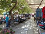 local market in Kyparissia