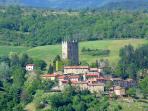 Porciano, hamlet view