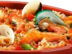 Shellfish rice - delicious!