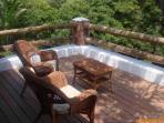Master bedroom terrace
