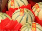 Les Terrasses - Gordes : market - melons