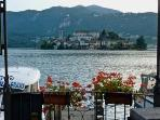 view to lake orta 15 minutes by car from vezzo