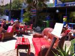 La Cubana Snack Bar! - You can enjoy great mojitos and food served directly at your sunbed.