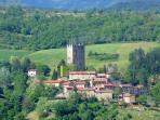 The hamlet of Porciano