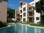 Enjoy the tranquility of the condo tropical pure nature green garden...