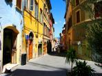 Immediately outside your front door, Corso Garibaldi... in siesta period..