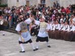 Kumpanija - sword dance from Blato (7km from the apartment)