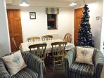 Dining area ready for Christmas!