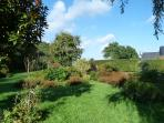 Extensive and well maintained gardens