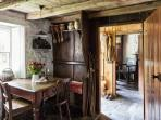 One of the best preserved rustic interiors