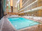 Indoor pool in B building