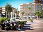 New restaurants added along this popular walkway in Puerto de Mazarron